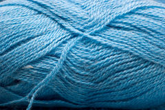 Blue Wool Hank Royalty Free Stock Images