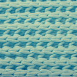 Blue wool knitted texture Royalty Free Stock Photo