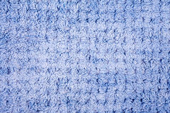 Blue wool knitting pattern Stock Photo