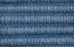 Blue wool texture background Stock Image