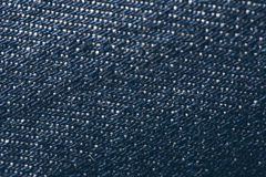 Blue Wool Texture Royalty Free Stock Photography