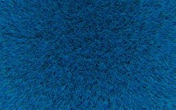 Blue wool texture. 3d render blue wool graphic background texture Stock Photography