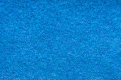 Blue Woolen Cloth Texture Stock Images