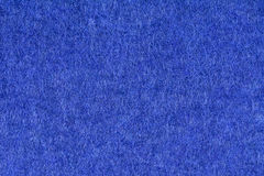 Blue woolen fabric texture background, close up Stock Image