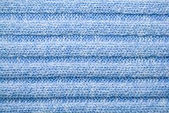 Blue woolen pattern stock photography
