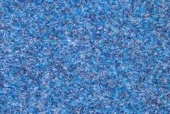 Blue woolen texture Stock Image