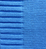 Blue woolen texture stock photos