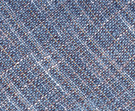 Blue woolen textured background. Stock Photography
