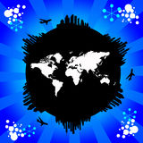 Blue world Royalty Free Stock Image