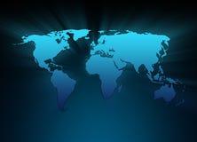 Blue World royalty free illustration