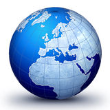 Blue world Stock Images