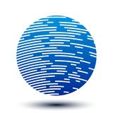 Blue world globes with shadows - vector. Blue world globes with shadows - stock vector Vector Illustration