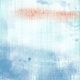 Blue Worn Folded Grunge Paper Background Stock Photography