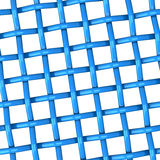 Blue woven 3d. Abstract 3d background - blue woven Stock Image