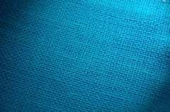 Blue woven background. Closeup of blue woven background Royalty Free Stock Image