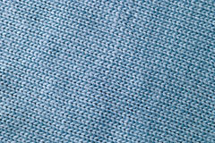 Blue Woven Fabric Background Royalty Free Stock Images
