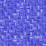 Blue woven fabric, a fabric texture background. fabric natural canvas texture. Stock Images