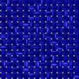 Blue woven fabric, a fabric texture background. fabric natural canvas texture. Royalty Free Stock Photos