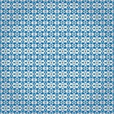 Blue wrapping paper Stock Image