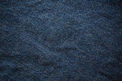 Blue wrinkled jean background stock photo