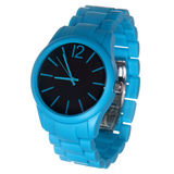 Blue wrist watches Royalty Free Stock Photos