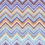 Blue wrong chevrons pattern Royalty Free Stock Photography