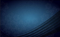 Blue xmas background Stock Photography