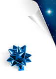 Blue Xmas Page Royalty Free Stock Photos