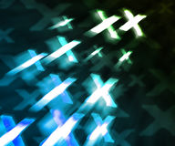 Blue XXX Abstract Background Stock Photos