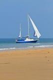 Blue Yacht Stock Photos