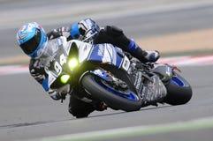 Blue Yamaha R1 Royalty Free Stock Image
