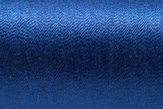 Blue Yarn Background Royalty Free Stock Photo