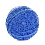Blue Yarn Ball Stock Images