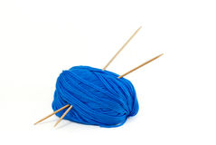 Blue Yarn Stock Photos