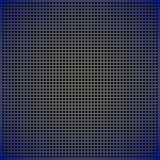Blue yellow abstract background. Abstract background a blue grid with round opening Stock Photos