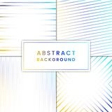 Blue and yellow abstract background vector set stock illustration