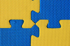 Blue and yellow background Royalty Free Stock Photos