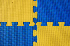 Blue and yellow background Royalty Free Stock Images