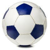 Blue and yellow ball. Europe on a white background Stock Photos