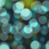 Blue and yellow bokeh abstract background Stock Photos