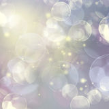 Blue and Yellow  Festive background. With light beams Royalty Free Stock Photography