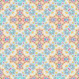 Blue Yellow Flower Pattern Weave Elements Royalty Free Stock Photos