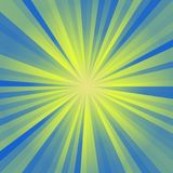 Blue and yellow graphic light. Texture Vector Illustration