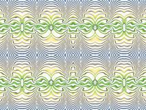 Blue-yellow-green. Abstract picture in blue, yellow and green color Stock Photos