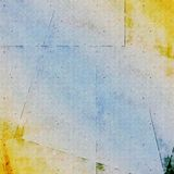 Grunge Background. Blue and yellow  grungy vintage background Stock Image