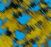 Blue and yellow painting texture abstract Stock Images
