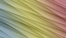 Blue yellow pink diagonal irregular lines angles abstract background design illustration. Computer generated smooth overlapping, asymmetric irregular lines and stock illustration