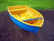 Playground Boat Royalty Free Stock Photo