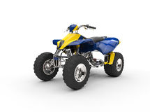 Blue Yellow Quad Stock Photos