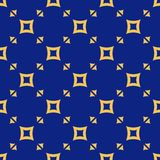 Blue and yellow vector geometric seamless pattern with small squares, triangles. Vector geometric seamless pattern. Colorful texture with small triangles royalty free illustration